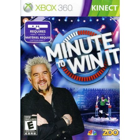 Minute to Win It (Kinect) (Best Family Kinect Games)
