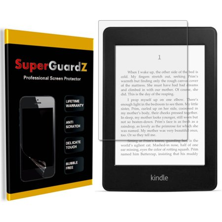 [3-Pack] For Amazon Kindle Paperwhite (10th Gen, 2018) - SuperGuardZ Ultra Clear Screen Protector, Anti-Scratch, Anti-Bubble ()
