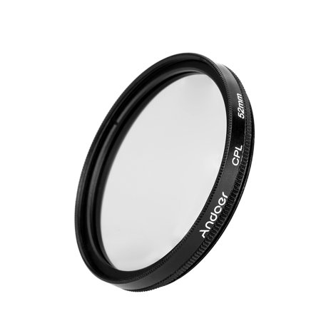 Andoer 52mm Digital Slim CPL Circular Polarizer Polarizing Glass Filter for Canon Nikon Sony DSLR Camera
