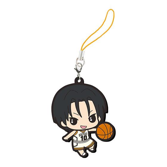 Kuroko's Basketball Takao Kazunari Rubber Mascot Smartphone Charm Strap