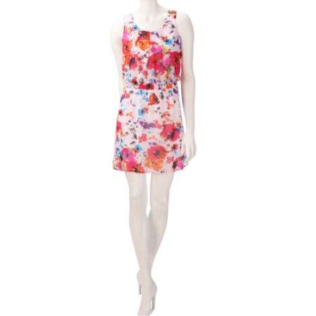 Speechless Juniors Abstract Floral Dress