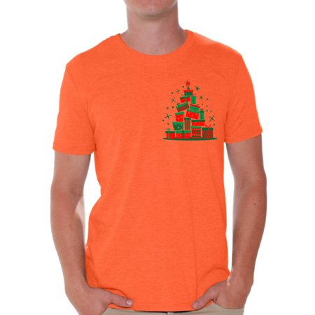 Awkward Styles Lit Christmas Tree Tshirt for Men Xmas Tree Shirt Ugly Christmas T Shirt Xmas Presents Tree Family Christmas Shirt Holiday Party Outfit Funny Christmas Shirts for Men Xmas Lit Shirt](Christmas Family Outfit)