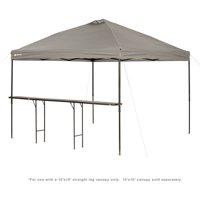 Ozark Trail Bar-Height 10' Folding Table for Use with Canopy [Canopy Not Included]