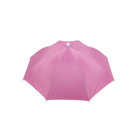 Golf Angling Game Fishing Beach Sun Umbrella Hat Hot Pink (Fishing Umbrella Hat)