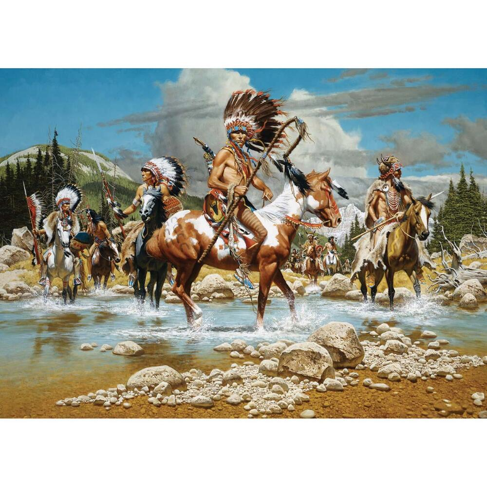 Masterpieces The Chiefs 1000-Piece Puzzle by Generic