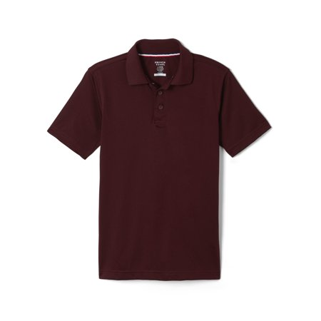 ba18f52d1 FRENCH TOAST - French Toast Short Sleeve Stretch Moisture Wicking Polo  Shirt (Little Boys   Big Boys) - Walmart.com
