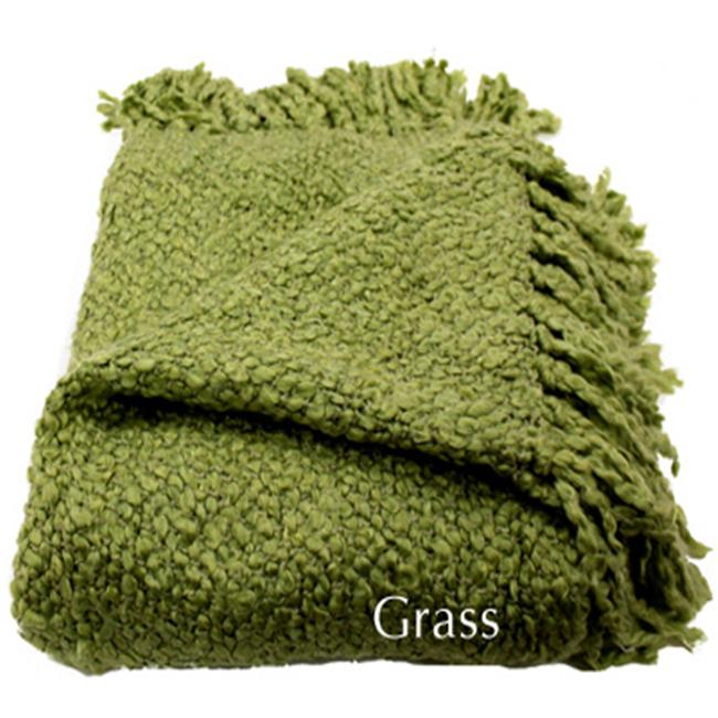 Woven Workz 018-043 Marion Throw - Grass