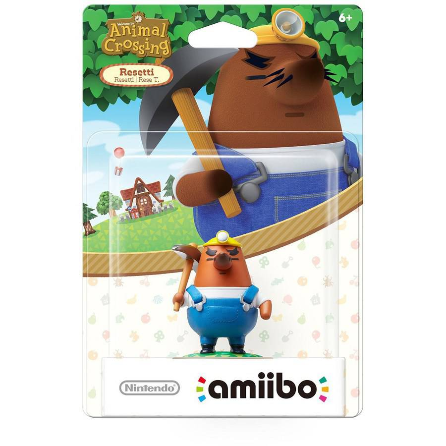 Mr. Resetti Animal Crossing amiibo (Nintendo WiiU or Nintendo 3DS)