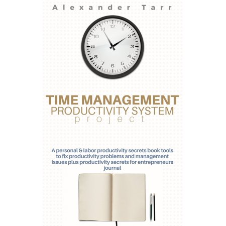 Time Management Productivity System Project -
