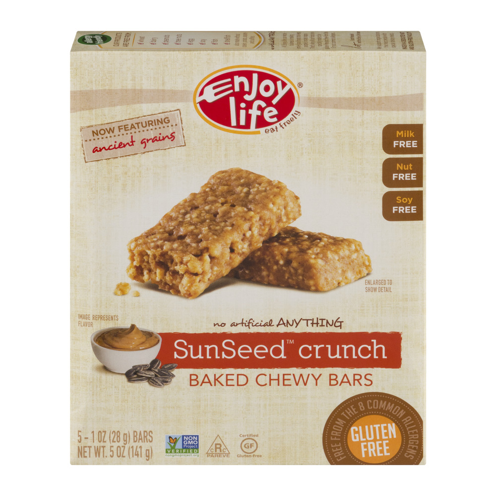 Enjoy Life Baked Chewy Bars SunSeed Crunch, 1.0 OZ