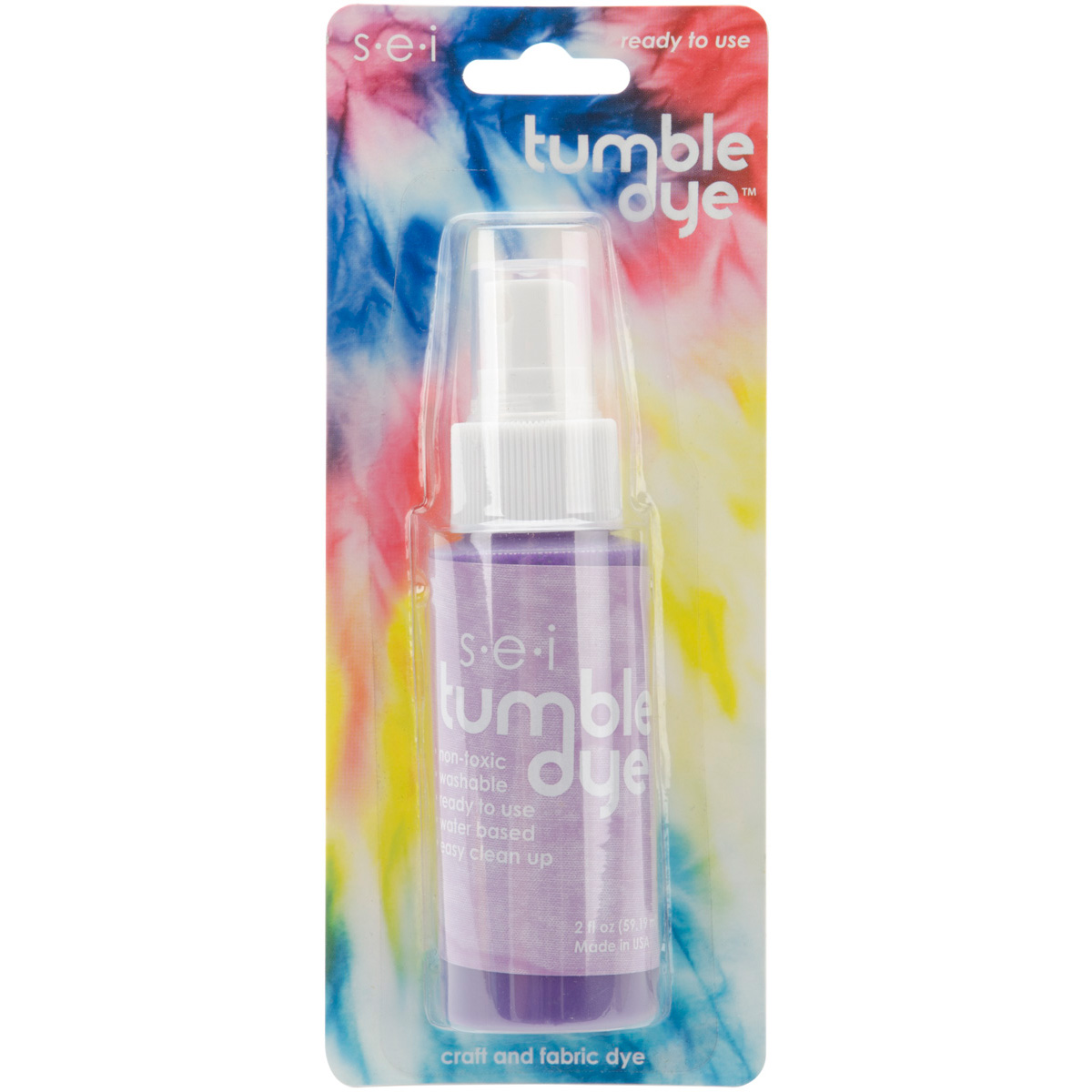 Tumble Dye Craft And Fabric Spray 2 Ounces-Lavender