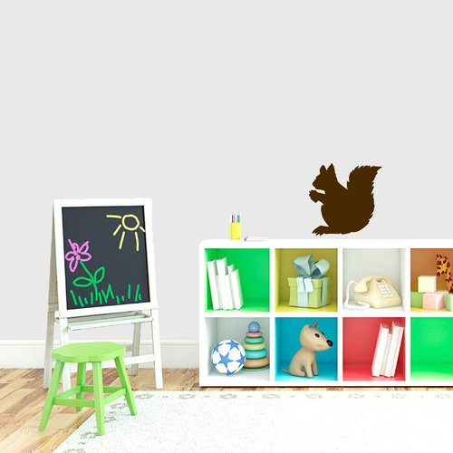 Sweetums Wall Decals Squirrel Silhouette Wall Decal