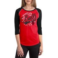 Chicago Bulls Women's NBA Long Sleeve Baby Jersey Crew Neck Tee