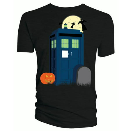 Doctor Who Classic Womens T-Shirt Halloween Tardis](Bts Halloween Lyrics)
