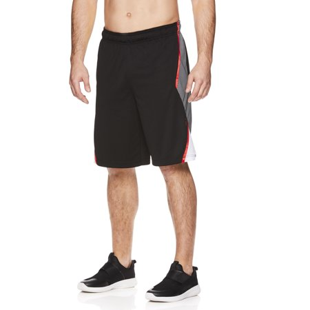AND1 Men's and Big Men's Mesh Basketball Short, up to 5XL