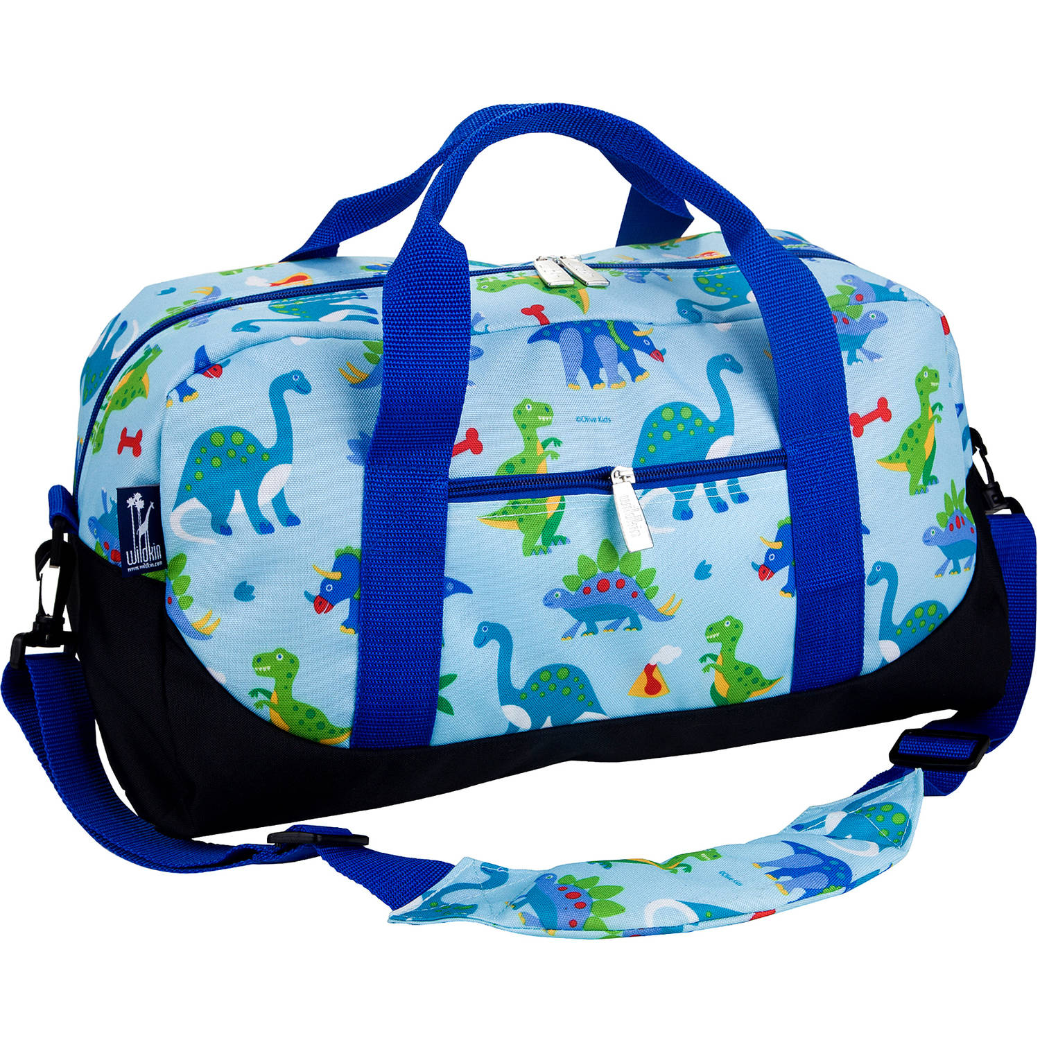 Olive Kids Dinosaur Land Overnighter Duffel Bag by Wildkin
