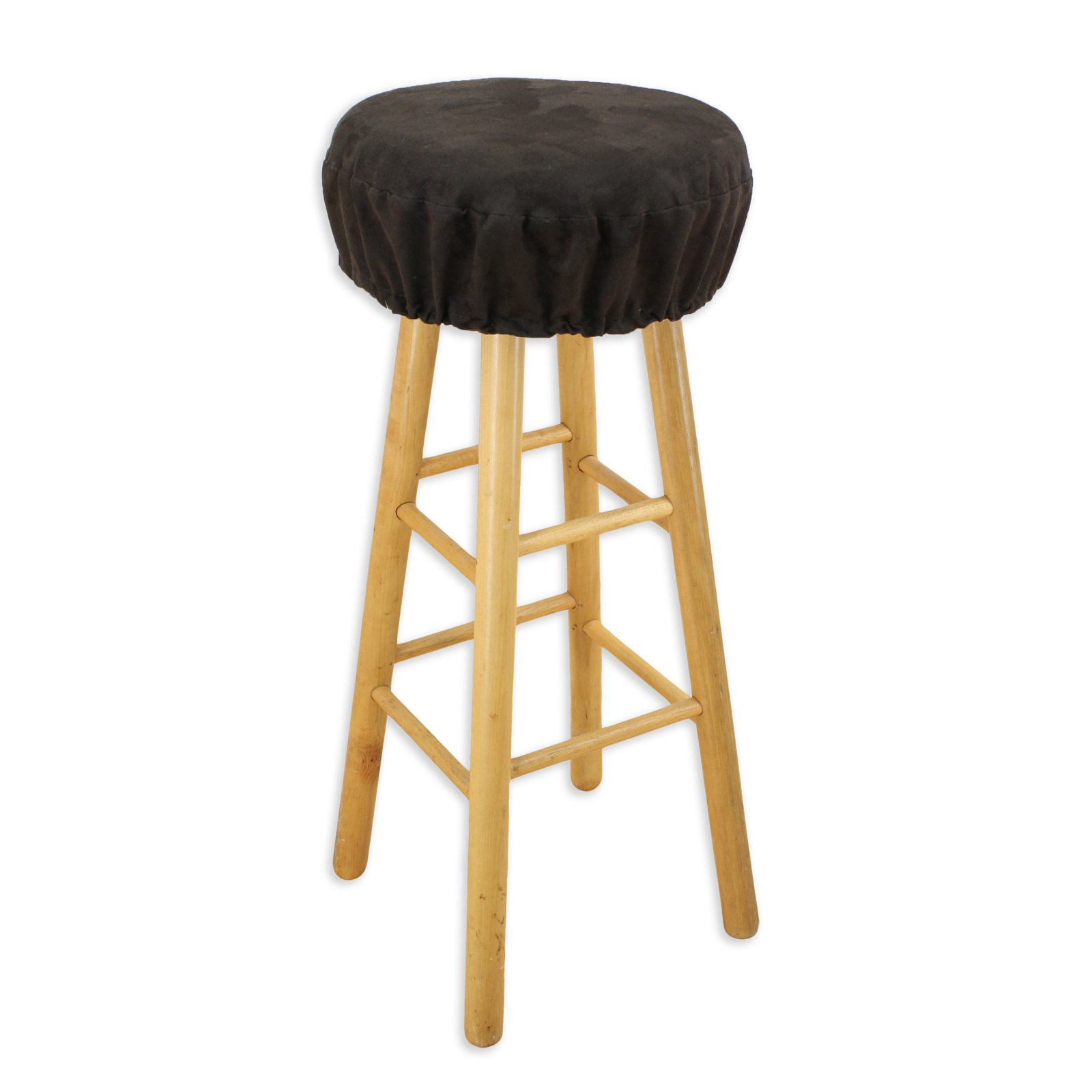 Brite Ideas Living Passion Suede 16 In. Round Foam Bar Stool Cushion    Walmart.com
