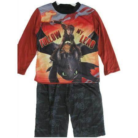 Boys Black Printed 2 Pc Pajama Set - Boutique Pajamas