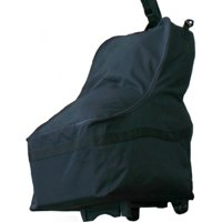 J.L. Childress Wheeled Car Seat Travel Bag, Black