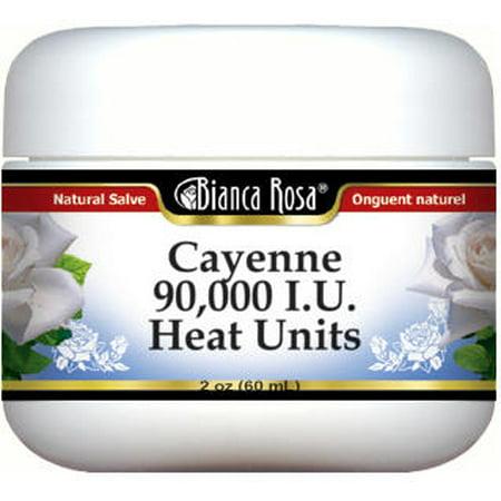 Cayenne - 90,000 I.U. Heat Units Salve (2 oz, ZIN: - Cayenne Heat