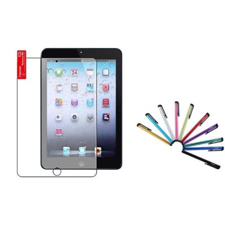 Insten Anti-Glare Screen Protector For Apple iPad Mini 3 3rd / 2 2nd with Retina Display / 1 1st (with 10-Piece Stylus) 10 Second Skin