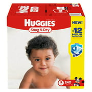 Huggies Snug & Dry Diapers - Size 3 (240 ct.)