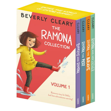 The Ramona Collection, Volume 1: Beezus and Ramona, Ramona and Her Father, Ramona the Brave, Ramona the Pest (Paperback)