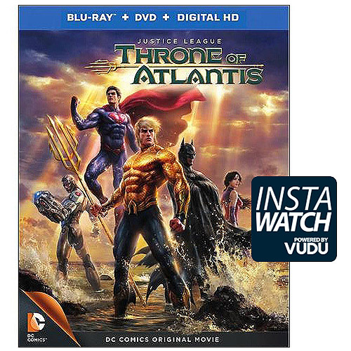 Justice League: Throne Of Atlantis (Blu-ray + DVD + Digital HD) (With Ultraviolet) (With INSTAWATCH) (Widescreen)