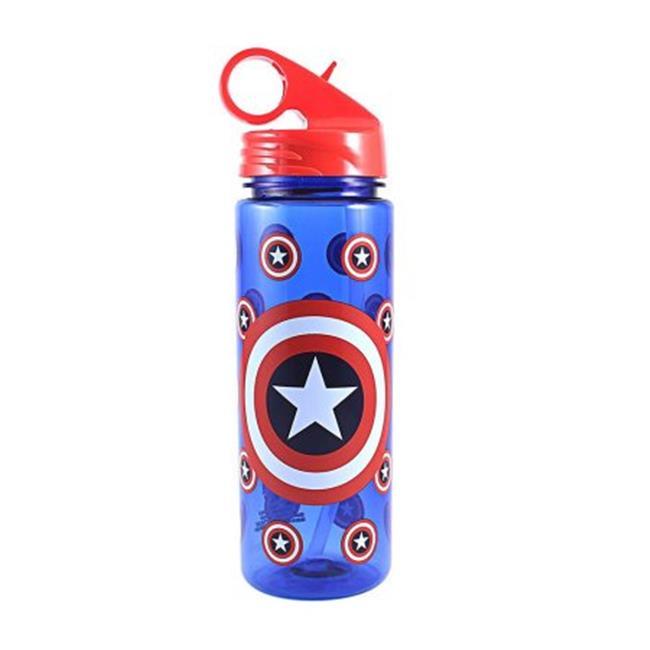 SILVER BUFFALO LLC Captain America Bottle ME0264