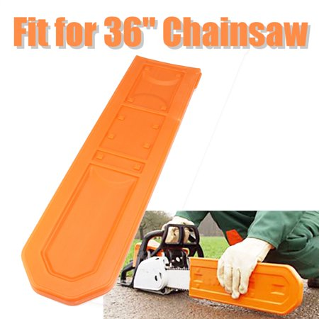 Meigar 21'' Chainsaw Bar Black Cover Scabbard Protector Universal Guide Plate Sets Guide Bar Cover