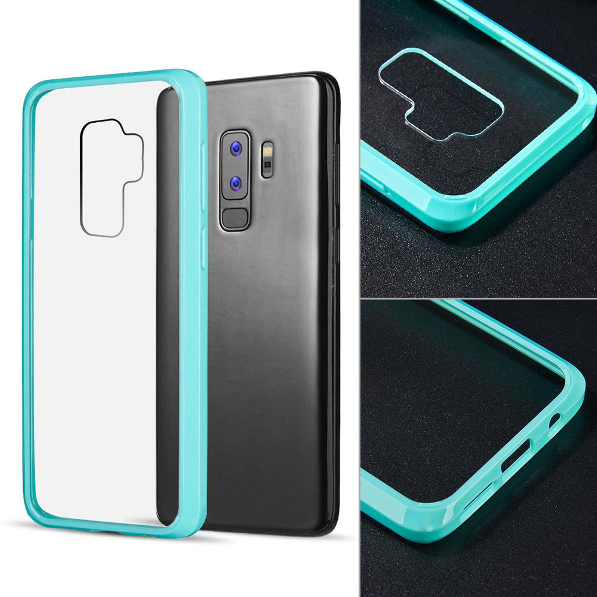 Samsung Galaxy S9 Plus Case, by Insten Fusion Candy Acrylic Transparent Case Phone Cover For Samsung Galaxy S9 Plus