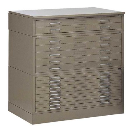 Mayline Steel Drawer Plan File Set Flush Base Product Picture 135