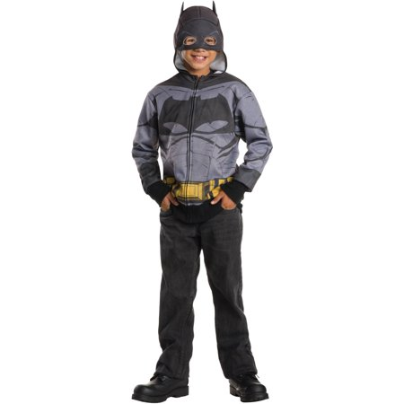 Batman Hoodie Child Halloween Costume - Batman Long Halloween Issues