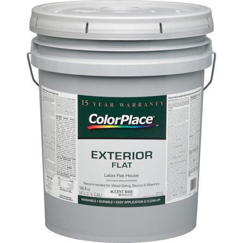 ColorPlace Exterior Flat Accent Paint Base
