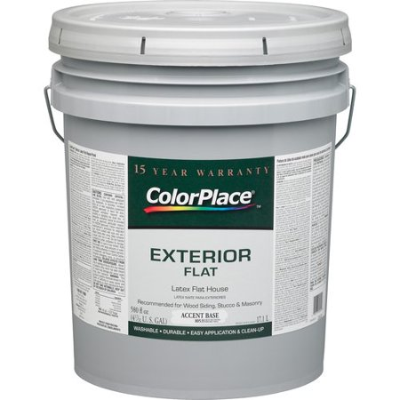 Colorplace Exterior Flat Accent Paint Base