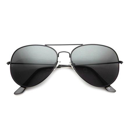 Classic Full Metal Teardrop Pilot Wire Frame Standard Aviator Sunglasses 58mm 9762