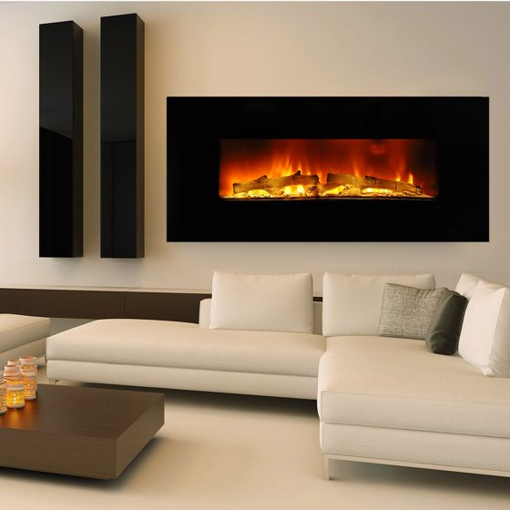 "Free Shipping. Buy Ktaxon Heat Adjustable 36"" Wall Mount Electric Fireplace MultiColor LED Backlight at Walmart.com"