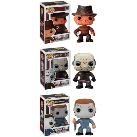 Funko Horror Classics POP! Movies Vinyl Collectors Set: Freddy Krueger, Jason Voorhees, Michael Myers for $<!---->