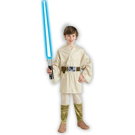 Star Wars - Luke Skywalker - Children's Costume](Deluxe Luke Skywalker Costume)