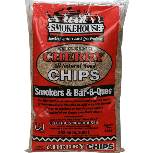 SMOKER CHIPS 2LB BAG CHERRY