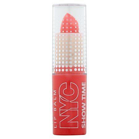 (NYC New York Color Show Time Lip Balm, Trendy Peach)