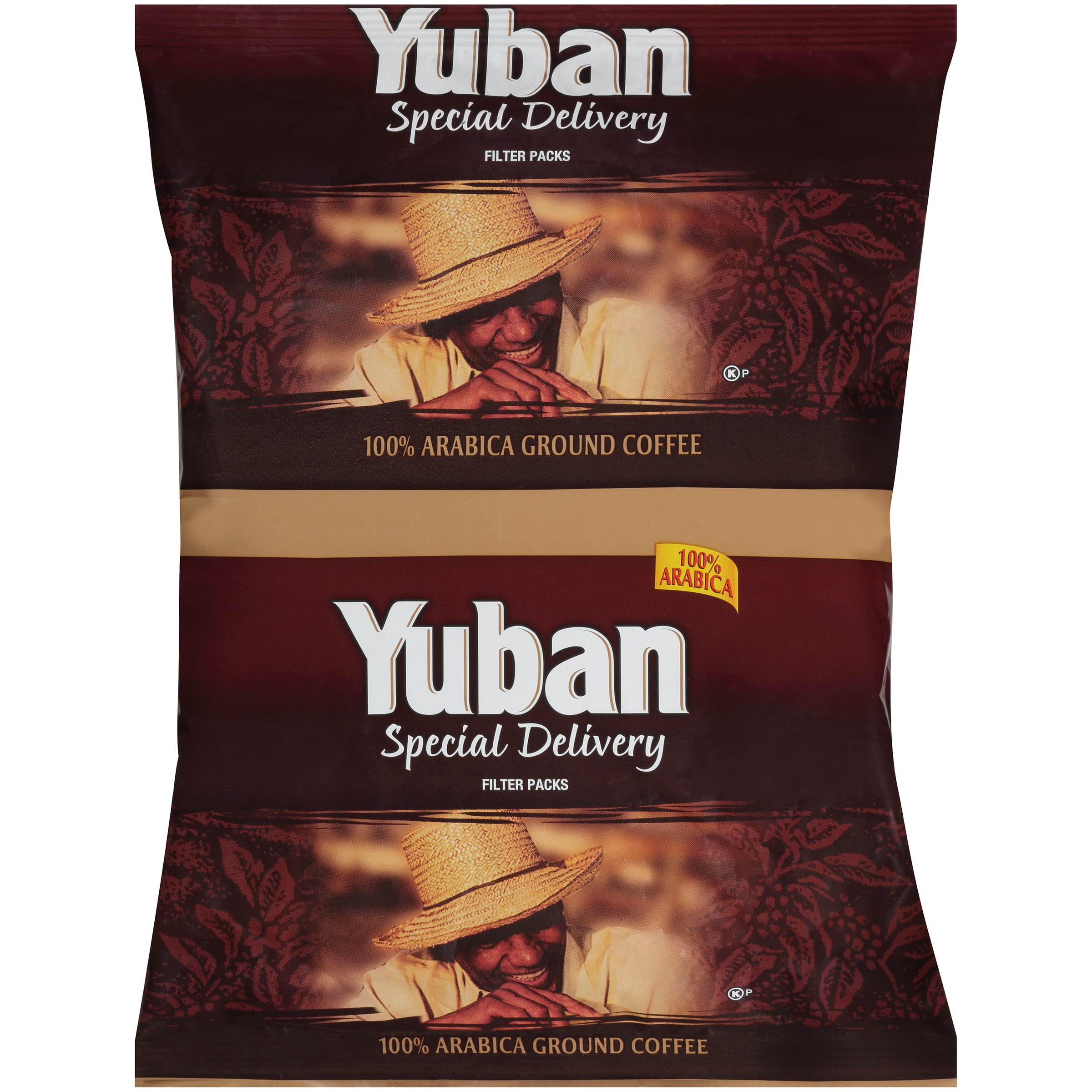Yuban Special Delivery 100% Arabica Ground Coffee Filter Packs 6-7.2 oz. Bags