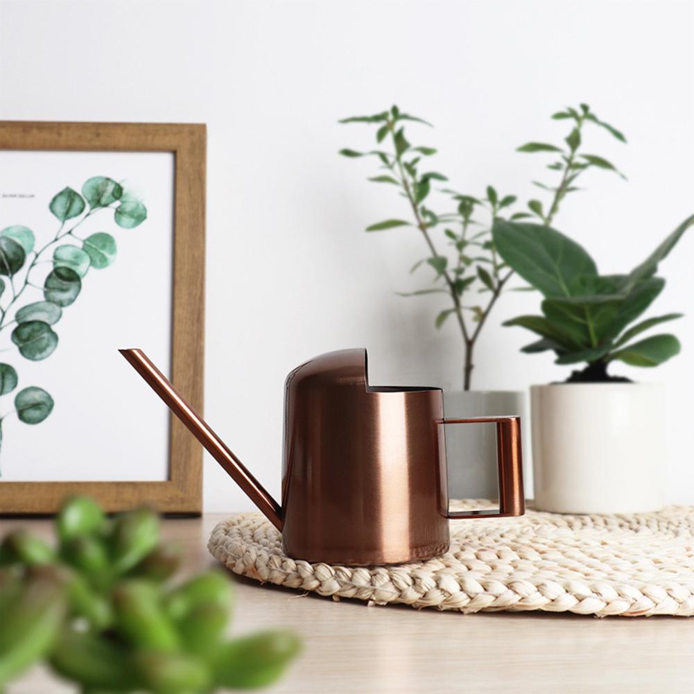 300ml Mini Watering Can Houseplant Flower Long Spout Sprinkler Garden Watering