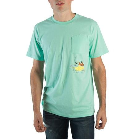 Spongebob Squarepants Men's Pocket T-Shirt