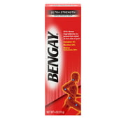 Bengay Ultra Strength Non-Greasy Topical Pain Relief Cream, 4 Oz.
