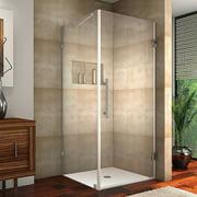 Aston Aquadica Hinged Semi-Frameless Shower Door
