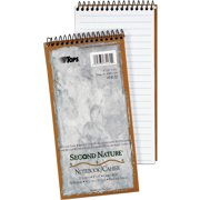 TOPS, TOP74130, Second Nature 100% Recycled Steno Book, 1 Each