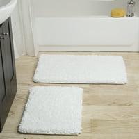 Somerset Home 2 Piece Memory Foam Bath Mat Set