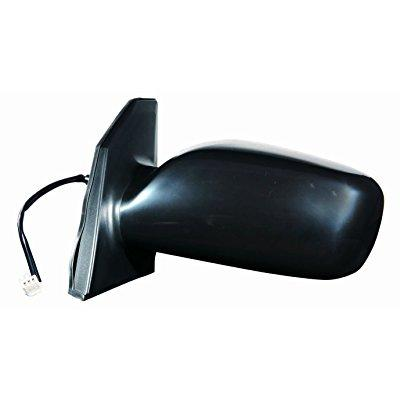 Depo 312-5405l3eb black driver side power non-heated mirror