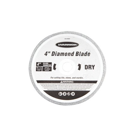 4 in. Continuous Rim Dry Cut Masonry Diamond Blade ()